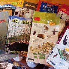 Libros: LOTE DE GUÍAS DE TURISMO. Lote 269298518