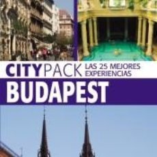 Libros: BUDAPEST (CITYPACK). Lote 269342288