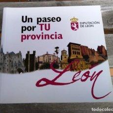 Libros: UN PASEO POR TU PROVINCIA, LEON. Lote 270956438