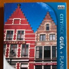 Libros: GUIA + PLANO BRUSELAS Y BRUJAS. Lote 271435888