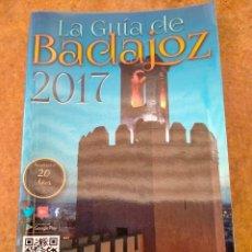 Livros: LIBRO LA GUIA DE BADAJOZ.AÑO 2017. Lote 274739098