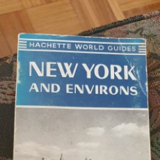 Libros: GUÍA NEW YORK 1965 HACHETTE. Lote 278605333