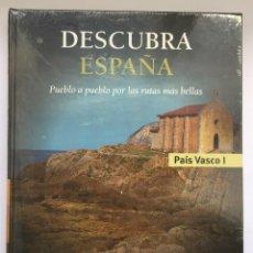 Libros: DESCUBRA ESPAÑA - PAÍS VASCO I Y II. Lote 279365483