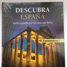 Libros: DESCUBRA ESPAÑA - EXTREMADURA I Y II. Lote 279372943