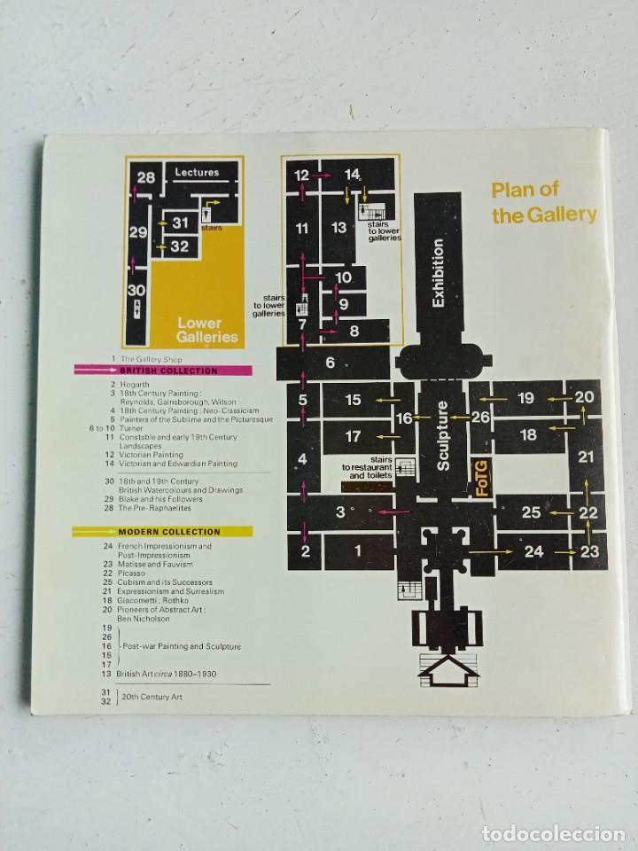 Libros: Guía oficial de la Tate Gallery (Londres), 1970, escrita en inglés - Foto 3 - 287185193