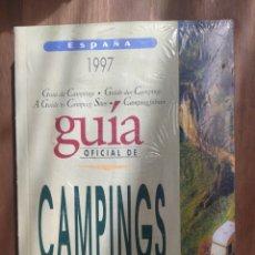 Libros: GUÍA CAMPINGS ESPAÑA '97. Lote 289573563