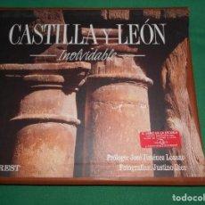 Libros: LIBRO CUERO CASTILLA Y LEON INOLVIDABLE EVEREST JIMENEZ LOZANO ESPAÑOL-INGLES. Lote 289762913