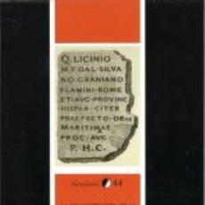 Libros: HISTORIA UNIVERSAL. LA ADMINISTRACIÓN DE LA PROVINCIA HISPANIA CITERIOR DURANTE EL ALTO IMPERIO ROMA. Lote 42621292