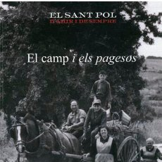 Libros: LLIBRE EL CAMP I ELS PAGESOS, SANT POL DE MAR. Lote 44112421