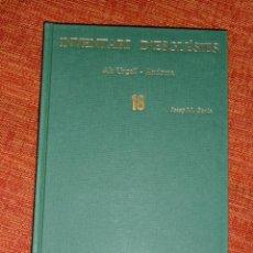 Libros: INVENTARI ESGLESIES DE CATALUNYA JOSEP MA GAVIN VOLUM 18 ALT URGELL ANDORRA. Lote 54868993