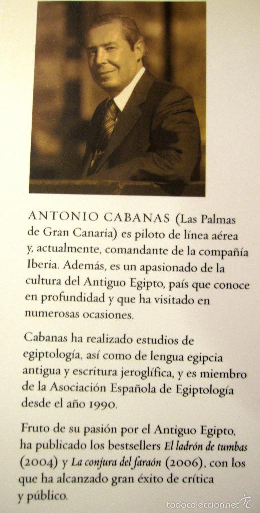 Libros: TEMAS DE HOY. ENIGMAS HISTORICOS: LOS SECRETOS DE OSIRIS. ANTONIO CABANAS......OFERTA EN PRECIO - Foto 2 - 56291092
