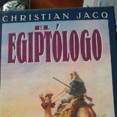 Libros: LIBRO EL EGIPTOLOGO CRISTIAN JACOBS. Lote 91017899