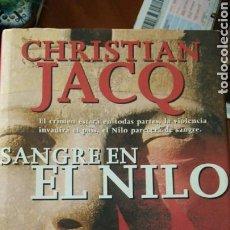 Libros: LIBRO SANGRE EN EL NILO DE CRISTIAN JACOB. Lote 91101987