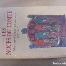 Libros: AURELL - LES NOCES DEL COMTE - CATALUNYA MEDIEVAL - ENVIO GRATIS - PRECINTAT - 1998 OMEGA. Lote 99190703