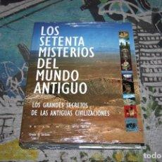 Libros: LOS SETENTA MISTERIOS DEL MUNDO ANTIGUO - BRIAN M. FAGAN - 32540 - NUEVO Y PRECINTADO. Lote 106997663