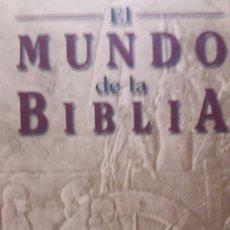Libros: EL MUNDO DE LA BIBLIA. Lote 116116523
