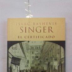 Libros: EL CIENTÍFICO. ISAAC BASHEVIS, SINCER.. Lote 117643594