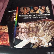 Libros: LAROUSSE-HISTORIA DE LA HUMANIDAD,EGIPTO Y GRECIA ANTIGUA-. Lote 119169362