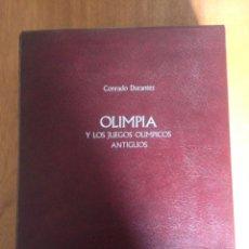 Libros: OLIMPIA Y LOS JUEGOS OLÍMPICOS ANTIGUOS. Lote 136157762
