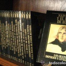 Libros: LOS GRANDES IMPERIOS Y CIVILIZACIONES. Lote 136203922
