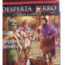 Libri: DOS O MAS REVISTAS, ENVÍO GRATIS. DESPERTA FERRO ANTIGUA Y MEDIEVAL Nº35 SEPTIMIO SEVERO. Lote 137714512