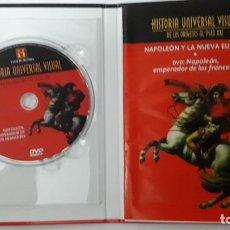 Libros: HISTORIA UNIVERSAL VISUAL NAPOLEON Y LA NUEVA EUROPA LIBRO Y DVD NUMERO 16. Lote 137843274
