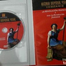 Libros: HISTORIA UNIVERSAL VISUAL LA REVOLUCION FRANCESA LIBRO Y DVD NUMERO 15. Lote 137843458