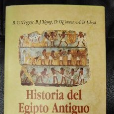 Libros: HISTORIA DEL ANTIGUO EGIPTO . Lote 142514966