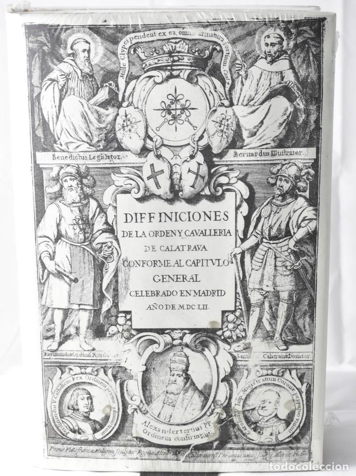FACSÏMIL: DIFFINICIONES DE LA ORDEN Y CAVALLERIA DE CALATRAVA CONFORME AL CAPITULO GENERAL, AÑO 1652 (Libros Nuevos - Historia - Historia Antigua)