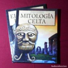 Libros: 2 LIBROS: MITOLOGÍA CELTA + EL IMPERIO ROMANO. Lote 154329110