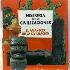 Libros: HISTORIA DE LAS CIVILIZACIONES. TOMO 1. EL AMANECER DE LA CIVILIZACIÓN. EMPAQUETADO( NUEVO). Lote 155182074