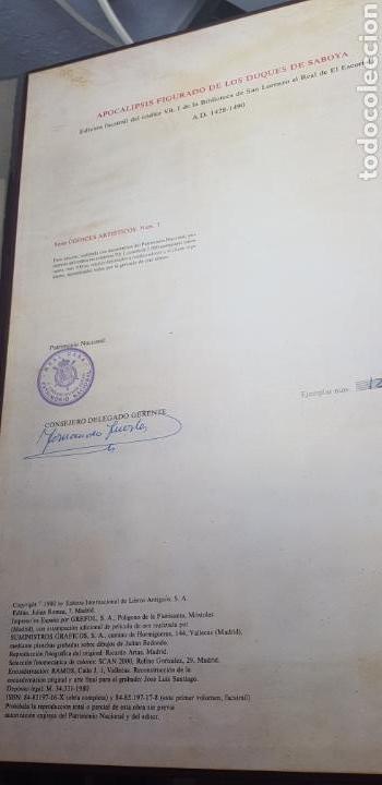 Libros: APOCALIPSIS FIGURADO DE LOS DUQUES DE SABOYA.facsimil. - Foto 10 - 147823032