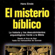 Libros: EL MISTERIO BÍBLICO. Lote 159508914