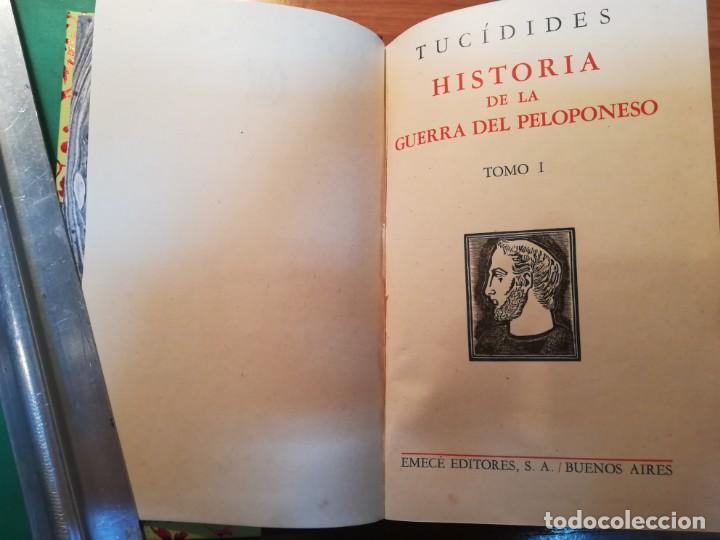 Libros: Las guerras del Peloponeso. Tucídides - Foto 2 - 163582410
