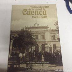 Libros: LIBRO TARJETAS POSTALES DE CUENCA. Lote 171644193