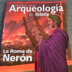 Libros: DOS O MAS REVISTAS, ENVÍO GRATIS. DESPERTA FERRO ARQUEOLOGÍA Nº27 LA ROMA DE NERÓN. Lote 293801613