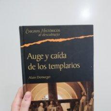 Libros: AUGE Y CAÍDA DE LOS TEMPLARIOS - ALAIN DEMURGER. Lote 181511987
