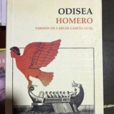 Libros: ODISEA HOMERO. Lote 183557052