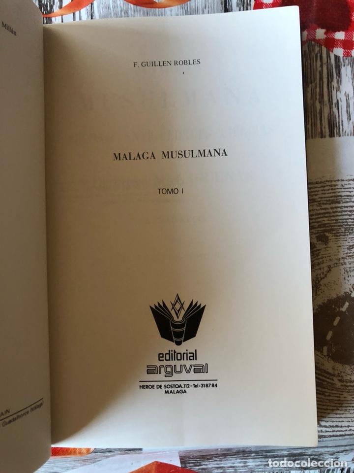 Libros: Libro la malaga musulmana - Foto 2 - 188784925