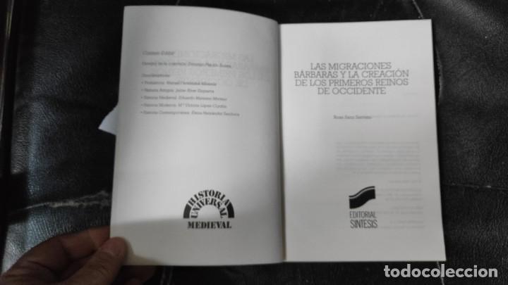 Libros: LAS MIGRACIONES BARBARAS Y LA CREACION DE LOS PRIMEROS REINOS DE OCCIDENTE - Foto 4 - 193740443
