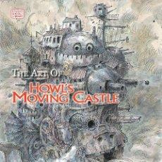 Libros: THE ART OF HOWL'S MOVING CASTLE (INGLES/ENGLISH) - VIZ MEDIA - NUEVO. Lote 194315910