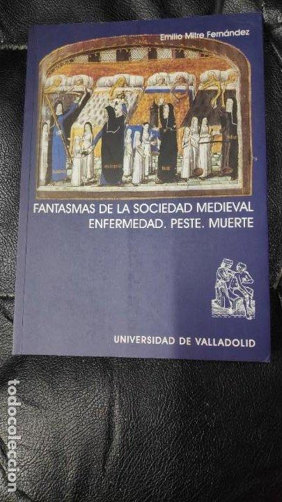 FANTASMAS DE LA SOCIEDAD MEDIEVAL ENFERMEDAD, PESTE, MUERTE. (Libros Nuevos - Historia - Historia Antigua)