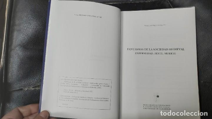 Libros: FANTASMAS DE LA SOCIEDAD MEDIEVAL ENFERMEDAD, PESTE, MUERTE. - Foto 4 - 194863526