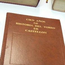 Libros: HISTORIA DEL TOREO EN CASTELLÓN. Lote 199240107