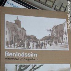 Libros: BENICASSIM MEMORIA FOTOGRÁFICA (PRUEBA UNICA NO SE EDITÓ PARA LA VENTA). Lote 199296288