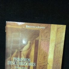 Libros: BIBLIOTECA EGIPTO - PRIMEROS DESCUBRIDORES - ALBERTO SILIOTTI - PRECINTADO. Lote 199838051