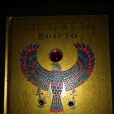 Libros: EGIPTO, LIBRO CON ILUSTRACIONES Y TEXTO HISTÓRICOS, PARA JOVENES. Lote 201356563