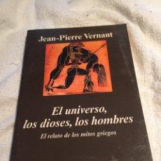 Libros: EL UNIVERSO LOS DIOSES LOS HOMBRES. Lote 202019306
