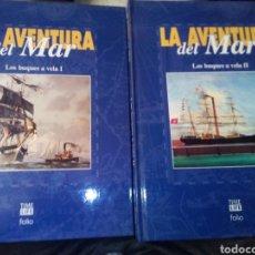 Libri: LA AVENTURA DEL MAR LOS BUQUES A VELA TOMO 1Y2. Lote 203582886