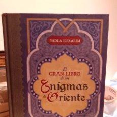 Libros: EL GRAN LIBRO DE LOS ENIGMAS DE ORIENTE. Lote 205105408
